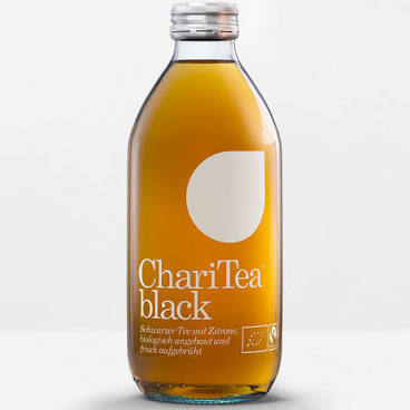 Charitea Black Bio 33cl