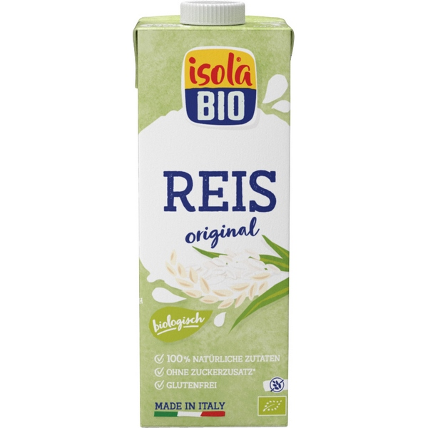 Isola Bio Drink au riz nature Bio 1L