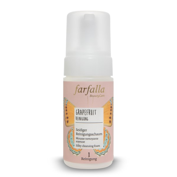 Grapefruit Mousse nettoyante 120 ml Farfalla